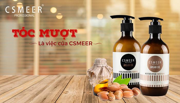 QUÀ TẶNG: 10 Bộ sản phẩm chăm sóc dành cho tóc khô xơ của CSMEER