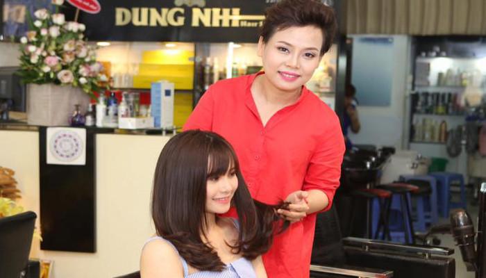 Tóc đẹp đúng chuẩn tại Dung Nhi Hairsalon