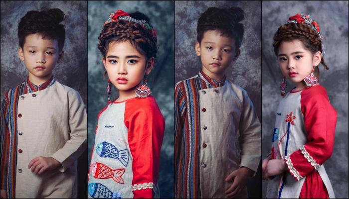 """""""Công chúa thời trang"""" xuất hiện cùng """"Thầy giáo mưa"""" tại tuần lễ thời trang  trẻ em Việt Nam  Viet Nam Junior's Fashion Week 2017"""