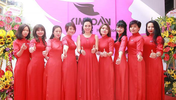 Khai trương Kim Loan beauty salon cơ sở 2 - sông lớn ắt vươn nguồn ra biển cả