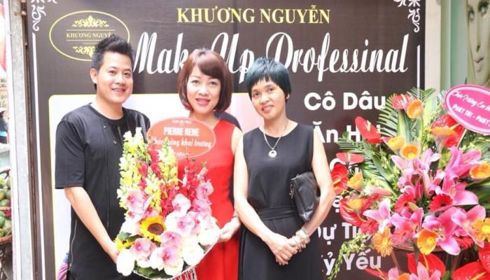 Khai trương Khương Nguyễn Make Up Professional Beauty Center - 18/58 Nguyễn Khánh Toàn
