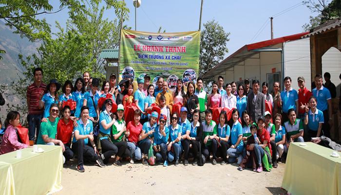 Khánh thành điểm trường vùng cao Xà Chải, xã Nàn Xỉn, huyện Xín Mần, tỉnh Hà Giang