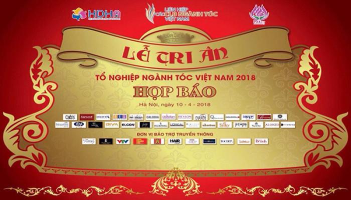 Họp báo công bố kế hoạch tổ chức Lễ tri ân Tổ nghiệp ngành tóc  Việt Nam 2018