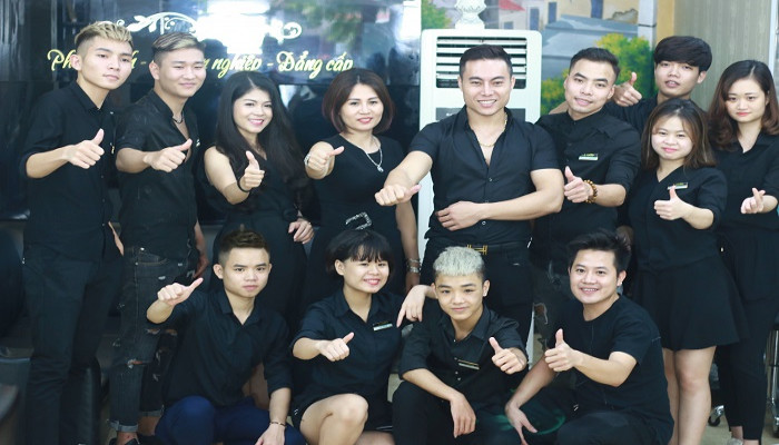 Hair Salon Quang Trường: Tâm – Tầm kết hợp, Thành Công tự đến