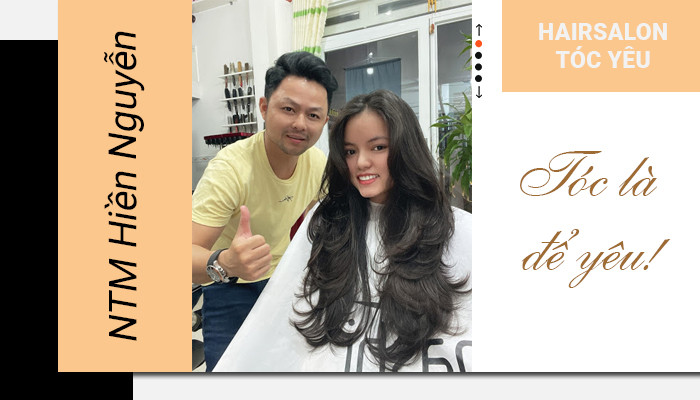 """NTMT Hiền Nguyễn """"Với tôi, tóc là để yêu"""""""